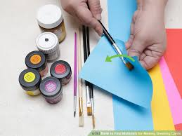 Small Picture 3 Ways to Find Materials for Making Greeting Cards wikiHow