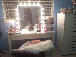 makeup vanity lighting ideas. Fantastic Lighted Mirror Vanity Stools Table Makeup Mirr Along With Lighting Ideas R