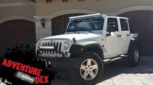 jeep wrangler 50 inch led light bar installation jeep wrangler 50 inch led light bar installation