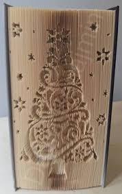 tree 1 cut fold book folding pattern