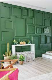 Accent walls in living room ...
