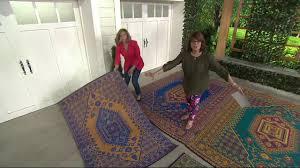 mad mats turkish indoor outdoor reversible floor mat on qvc