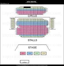 Arts Theatre London Seat Map And Prices For Six The Musical