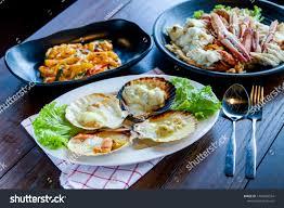 Seafood Seafood Bake Shellfish Chees ...