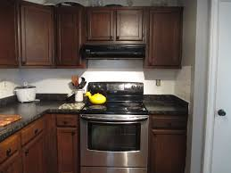 Dark Granite Kitchen Countertops Latest Electric Stove Under Microwave Color Scheme Kitchen Cabinet