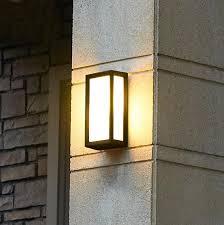 best creative outdoor wall lamps waterproof courtyard for exterior lighting ideas 0