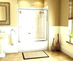 shower stalls canada alcove shower stalls one piece fiberglass enclosure indoor accord kit x kits