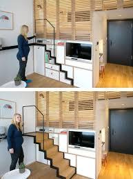 fashionable studio apartment storage ideas for tiny