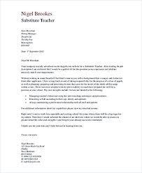 Substitute Teacher Cover Letter Rome Fontanacountryinn Com