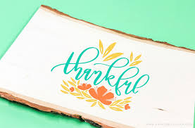 Free svg cutting files to download. Free Hand Lettered Thankful Svg File Printable Crush