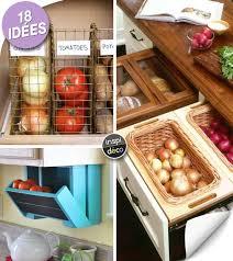 Rangement Fruits Et Légumes Dans Une Petite Cuisine 18 Idées