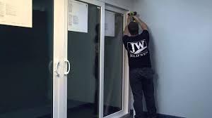 how to secure a fixed panel in a premium atlantic vinyl sliding patio door