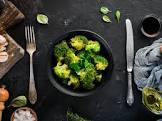 broccoli or cauliflower with a soy lemon dressing