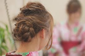 浴衣の髪型20代はレトロモダンで大人可愛いヘアアレンジ あの髪型