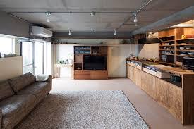 A Dark IndustrialChic Apartment From Tokyo By Yuichi Yoshida - Industrial apartment