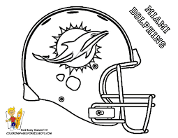 Small Picture Miami Dolphins Football Helmet Coloring Pages For Boys Bebo Pandco