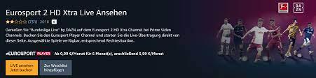 Letzte Chance! Prime Video Channels: Eurosport Player 2 HD Xtra für