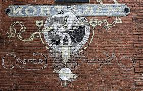 wall mural brick wall vintage