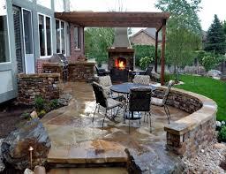 Outdoor Kitchen Patio Kitchens Patio Ideas For Small Gardens Houzz Houzz Backyards 12