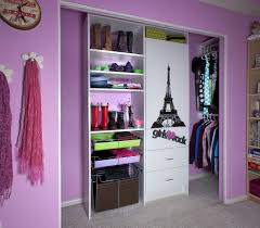 Closets Storages Enchanting Girl Bedroom Decoration Using Light