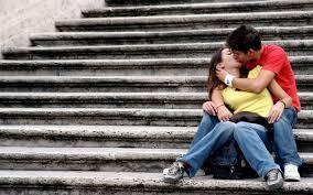 couple kiss hd wallpaper 10 1920 x 1200