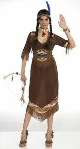American Princess Size Chart Details About Native American Princess Little Deer Indian Sexy Adult Womens Costume Dress Std
