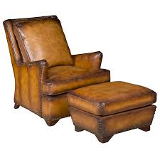 lovely art leather chair with ottoman leather chair ottoman northgate gallery antiques