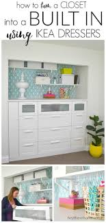ikea how to turn a standard closet into built in cabinets for craft storage using