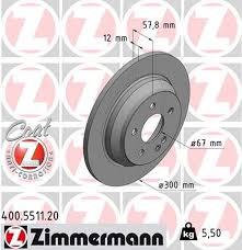 Sellele aitavad kaasa pikad, kuni 40 000 km hooldusintervallid. Zimmermann Brake Disc For Mercedes Benz Vito Mixto W447 Rear Zimmermann Bremsentechnik
