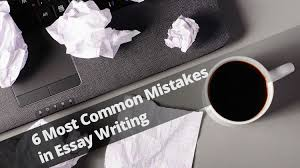 most common mistakes in essay writing