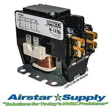york coleman luxaire contactor relay 1pole 30 amp 024 19107 000 30 amp • 1 pole • 24v contactor replaces york luxaire 024 27531