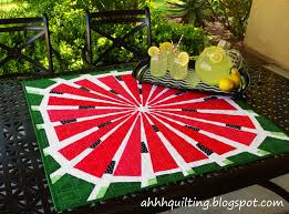 Ahhh...Quilting: Little Watermelon Quilt & And of course the good news is that finally everyone can have their own  summery watermelon quilt because the pattern is done! You can get it HERE! Adamdwight.com