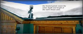 roof wires melt ice roof ice melt solutions icefree heated roof panels engineered