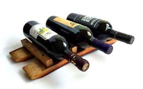 wine barrel wine rack furniture.  Rack Tabletop Wine Rack  Barrel Stave With Furniture