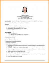Career Objectives On Resume Objective For It Example Job Examples