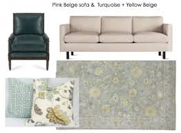 the easy way to decorate around a tan pink beige sofa maria