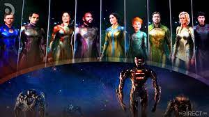 Here's what you should know about the new superhero group and the characters each actor will play. The Eternals Actor Reveals New Team Poster In Behind The Scenes Image The Direct