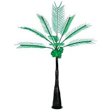 lighted palm tree slim logo foot led lighted palm tree with dark trunk outdoor lighted palm