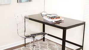 clear office desk. Contemporary Acrylic Desk Chair With Regard To LumiSource Modern Clear Office Free Shipping Today S