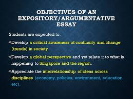 ace your expository argumentative essay prepared by mr tommie objectives of an expository argumentative essay students are expected to iuml130sup2 develop a critical