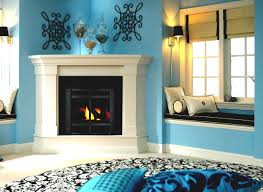 how to decorate a living room with a corner fireplace at home all