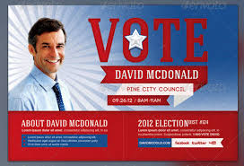 Free Election Flyer Template