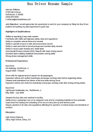 Cv For Driver Job Stunning Bus Driver Resume To Gain The Serious Bus Driver Job