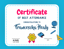 Printable Awards Templates Free Printable Certificate For Students Postermywall