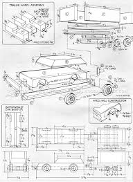 Wooden car and trailer plans woodarchivist