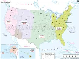 Usa Time Zone Map Current Local Time In Usa