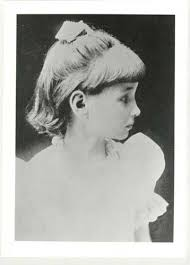 helen keller the story of my life chapter iv photo of helen keller in profile as a young girl
