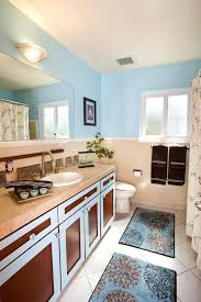 contemporary bathroom rugs contemporary with bath rug blue and image by interior design contemporary bath rug sets