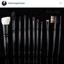 gorgeous picture of my brushes from thatonegalsteph thank you x by gossmakeupartist