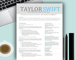 Creative Resume Template Word Free Resume Example And Writing